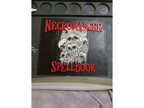 negromante Libro degli incantesimi contatore dungeon draghi necro negromante sillabare sillabare contatore Libro degli incantesimi tracker