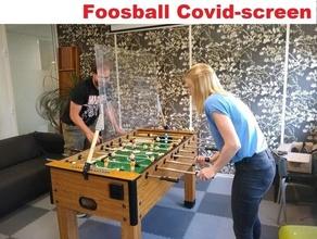 futbolín COVID 19 pantalla calcio mesa corona COVID 19 careta futbolín fútbol americano proteger social distanciamiento Futbolín futbolín