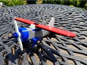 alto ala aereo modulare remixare giocattoli