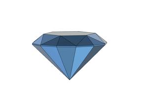 diamante classico gemme arte diamante diamanti film gemma Taglio laser minerale minerali puntello rocce calcolo