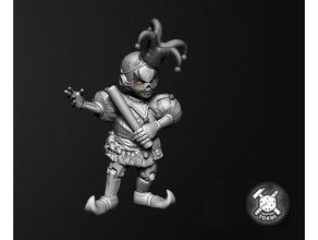 pidlwick ii costruire 28mm 32mm male bambini clown maledizione strahd diavolo dnd prigione fantasia gnomo arlecchini orrore macchina esploratore pidlwick fantoccio robot gioco ruolo rpg tavolo