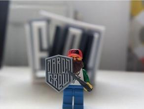 daron crew lego shield daron daroncrew lego shield