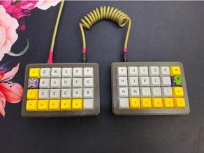 división caso funda teclado mecánico teclado