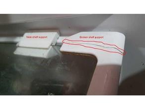 soporte lateral estante vidrio heladera atma argentina atma heladera refrigerator shelf support
