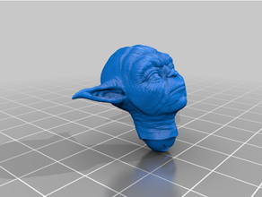 Yoda Kopf angepasst