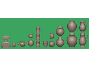 cerámica 28mm cerámica contenedores dnd dnd miniatura casa muñecas tarro frascos miniatura miniaturas miniatura 28mm pionero plantador plato maceta ollas cerámica platillo dispersión mesa taza té tetera florero