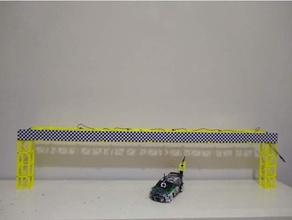 modulare ponte rc pista giro contatore