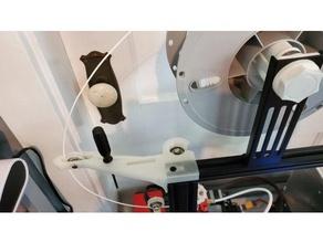 ender 3 palier filament guider soutien combo facile installer créalité ender 3 ender ender 3 ender 3 pro filament guider axe stabilisateur