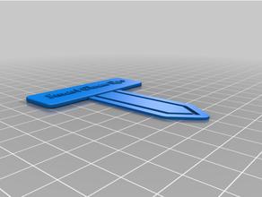 personalizzato segnalibro carta clip personalizzato