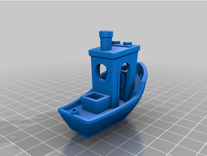 lego compatible benchy boat