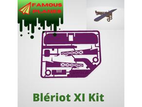 famoso aerei bl sommossa xi kit carta aereo blriot blriot xi famoso aerei manche aereo