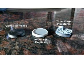labbro basi magnetiche 2mm magneti 25mm 32mm 40mm 50mm 60mm base dnd miniatura basare magnetico mini miniature tavolo giochi