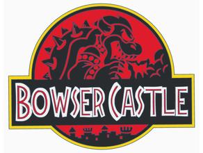 bowser Château logo hd jurassique parc jurassique mario nintendo super mario
