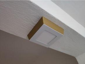 ceiling led light frame