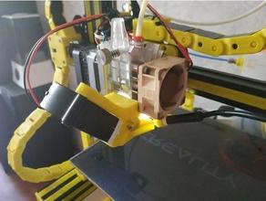 5020 fan duct mount bmg aero 5020 5020 blower bmg bmg aero bmg aero v6 ender 3 fan duct fan mount