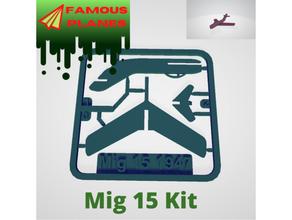 famoso aerei mig 15 kit carta aereo famoso aerei mig aereo