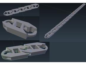 c link robusto cadena alternativa 3d impresora configurable construcción crealidad ender 3 personalizado ender 3 Ingenieria alojamiento lineal movimiento mecánico sencillo herramienta herramientas