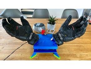 handchuhtrockner guante secadora fusion360 guante motocicleta práctico
