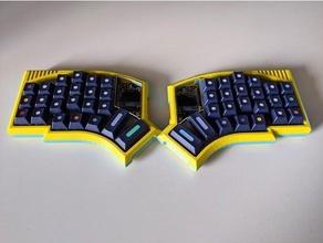 Kiria caso funda Kiria mecánico teclado división teclado
