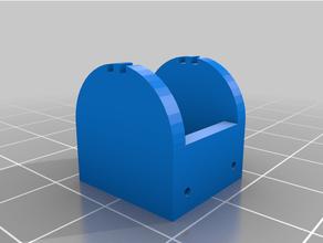 pulsante cellula batteria titolare supporto 2xag13 personalizzato