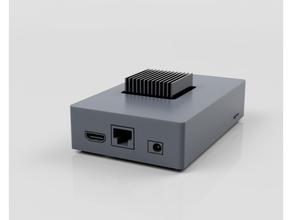 rockpro64 case passive cooling case rockpro64 sbc sbc case