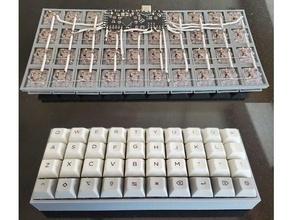 lanzamiento pilcrow tipo ortholineal teclado teclado ortholineal