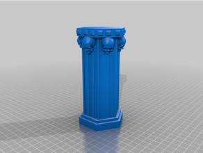 gothique pilier art Château colonne mort condamner gothique Royaume pilier torture