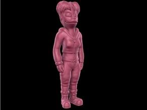 Amy wong kolay Yazdır destek 20th yüzyıl Amy Amy wong şekil futurama mat Groening model heykel desteksiz