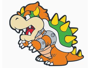 carta bowser hd Mario nintendo
