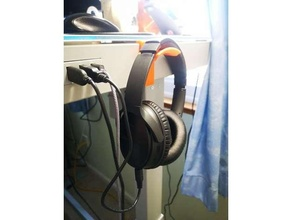 costco dreißig Schreibtisch sku 1074719 Kopfhörer Aufhänger