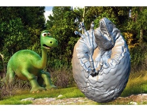 dinosaur egg 3d slash animal artifact customized dino dinosaur dinosaur egg dinosaurs egg free game gaming miniature model nature openscad product real scale model scan scenery stl t-rex tabletop gaming toy toys wargaming