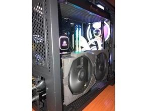 gpu verticale In piedi corsaro 280x giochi gpu grafico carta grafico carta supporto modding pc modding video carta video carta supporto