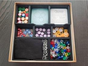 zusammengesetzt Tafel Spiel Veranstalter Brettspiel Zubehör Brettspiel Einsätze Brettspiel Veranstalter Brettspiel Lager zusammengesetzt