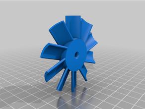 ametek 116763-13 vacuum cleaner motor cooling fan