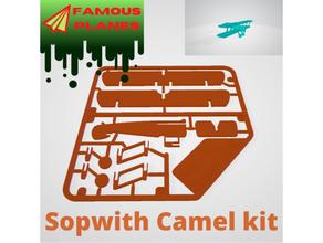 famoso aerei sopwith cammello kit carta cammello carta famoso aerei kit aerei sopwith cammello ww1