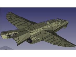buck rogers warhawk fighter mego style