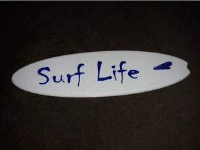 Surfen Leben Surfen Tafel