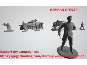 ww2 Deutsche Offizier Tafel Wargaming