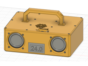 caja bt speaker 24v 1000 mah batería Bluetooth Bluetooth altavoz