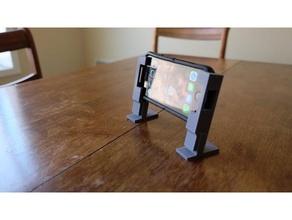 double objectif iphone titulaire soutien portable bureau iphone iphone 8 portable téléphone titulaire soutien