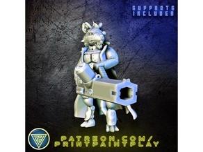 ysoki mécanicien 28mm extraterrestre miniature Souris rat jouer rôle rpg sci starfinder