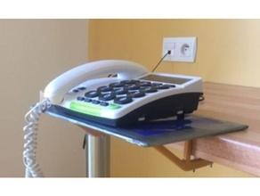 amovible étagère tablette amovible accessibilité aide aide technique altygo altylab assistante technologie d'assistance assistante dispositif invalidité désactivé ergonomique ergonomique ergothérapie handicap handicape handicapé caleçon professionnel thérapie téléphone