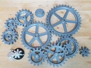 grande ingranaggi personalizzato cog cog ruota cog dieselpunk ingranaggi steampunk steampunk Ingranaggio