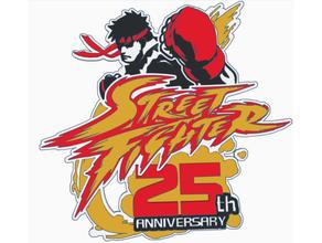 street fighter 25 anniversary logo hd arcade capcom street fighter