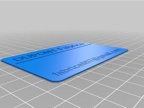 personalizzato attività commerciale carta creatore personalizzato