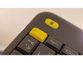 Esc logitech k400+ teclado botón Eliminar Esc teclado logitech logitech k400 mecánico teclado reemplazo reemplazo reemplazo partes repuesto repuesto partes