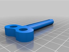 customized tooth-paste paint tube key customized