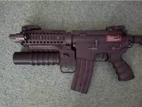 airsoft functioning m203 grenade launcher shortened airsoft airsoft accesories airsoft attachment m4 airsoft