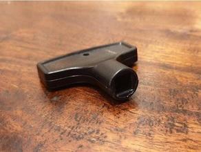 exterior grifo llave 8mm cuadrado