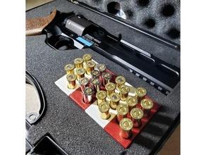 Hintern Nashorn Fall Mantel Munition Inhaber v2 357 357 Magnum Munition Hintern Nashorn